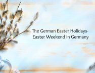 german easter holidays