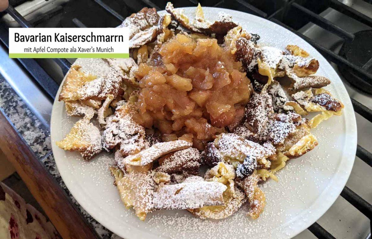 Bavarian Kaiserschmarrn