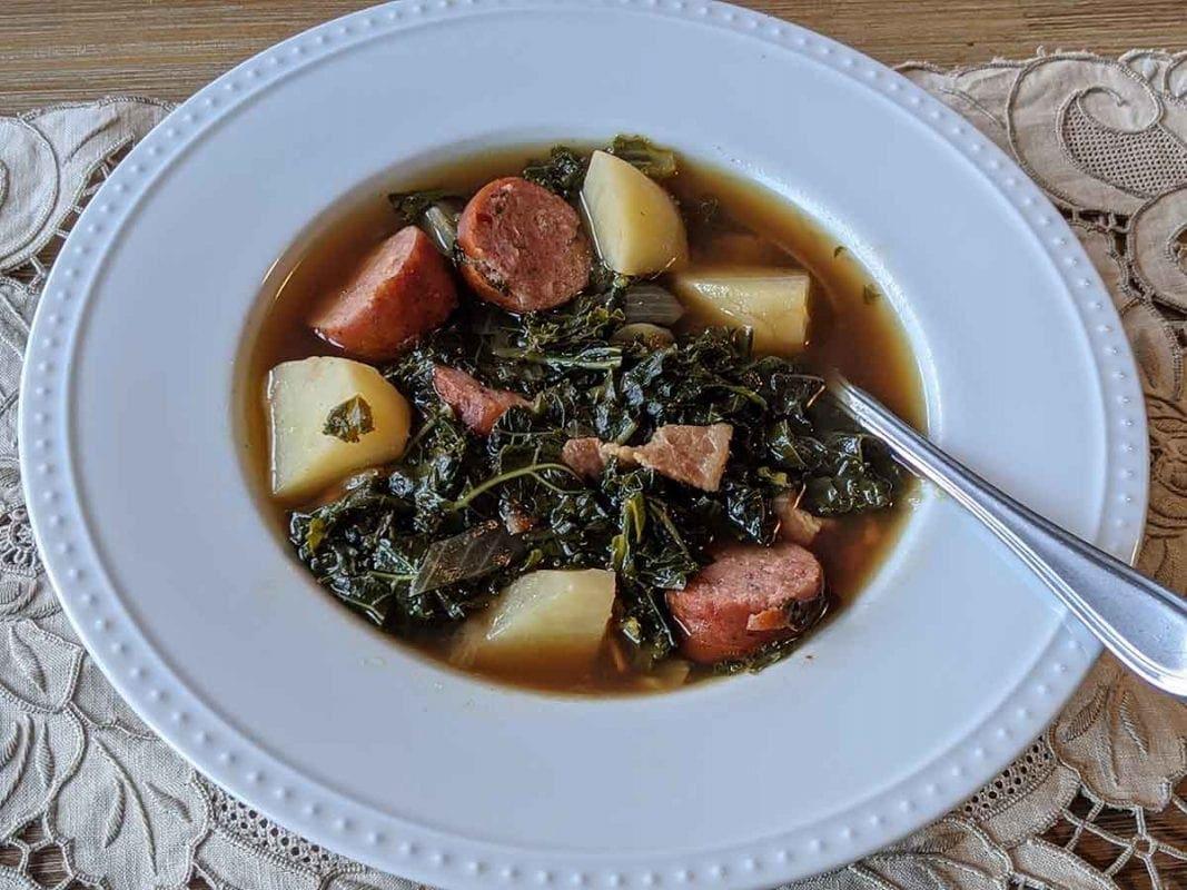 grünkohlsuppe recipe