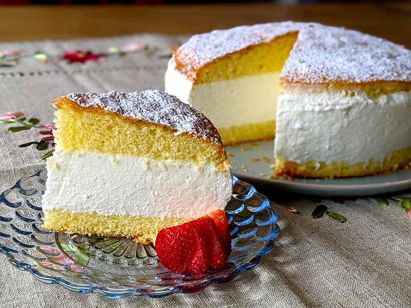 kase sahne torte recipe