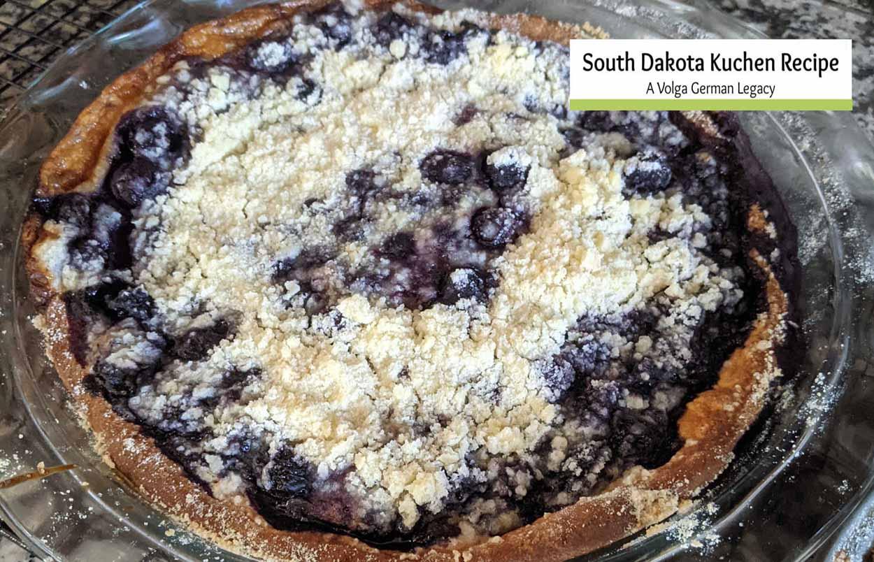 South Dakota Kuchen Recipe- A Volga German Legacy