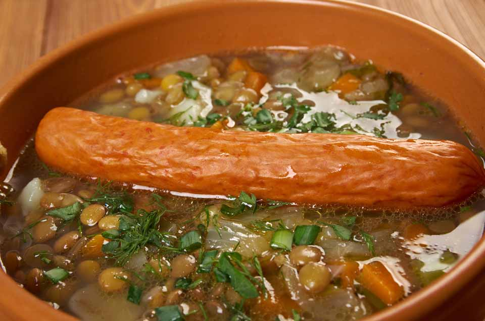 German Soups stews