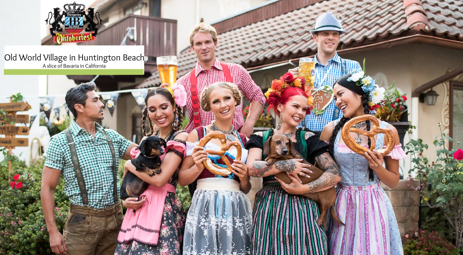 Old World Village in Huntington Beach- A slice of Bavaria in California