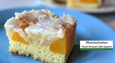 peach cake cover