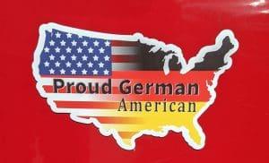 proud german american magnet