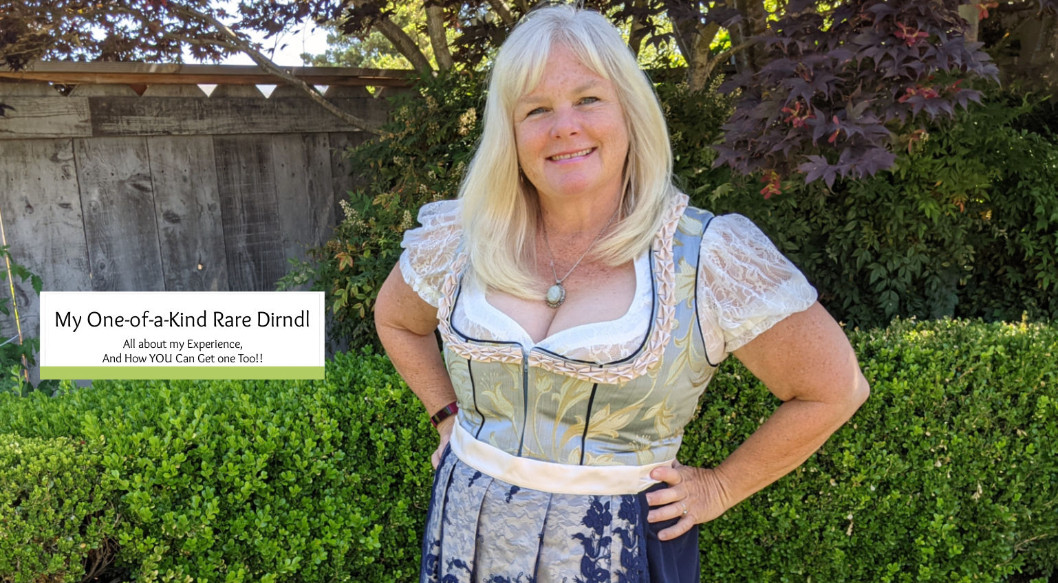My One-Of-A-Kind Dirndl from Rare Dirndl