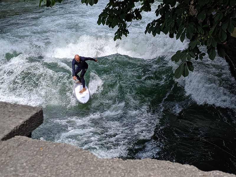 surfing in munich