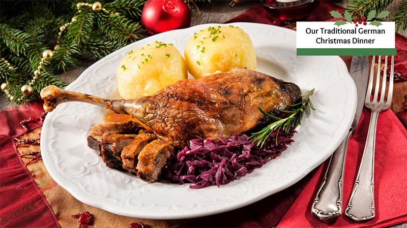 Our Traditional German Christmas Dinner Menu