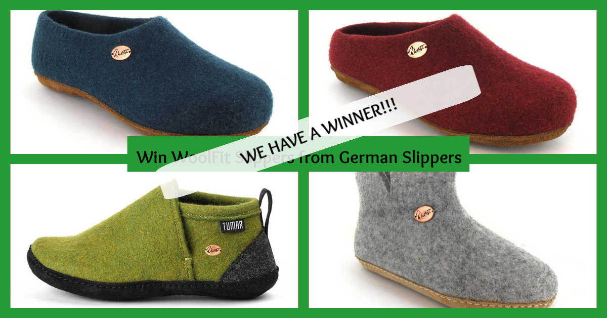 Win Woolfit Slippers from German Slippers for Easter!