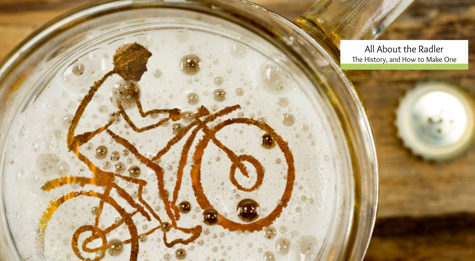 What is a Radler- The History of a Drink Named for a Cyclist