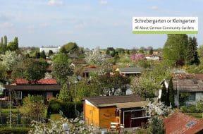 what is a schrebergarten