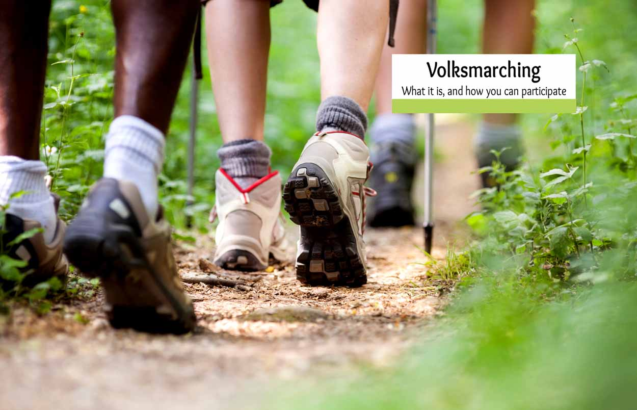 What is a Volksmarsch? Walking for Fun, Friendship and Fitness