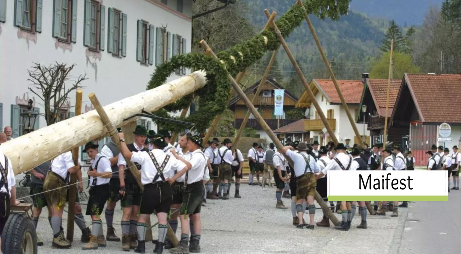 What is Maifest? What is a Maibaum? Germany Celebrates May Day!